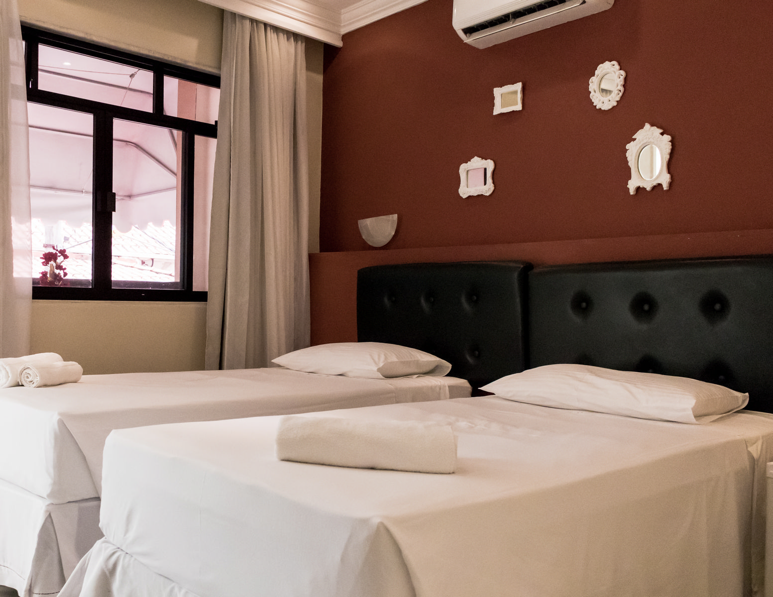 foto do Quarto com Varanda Lemes Hotel